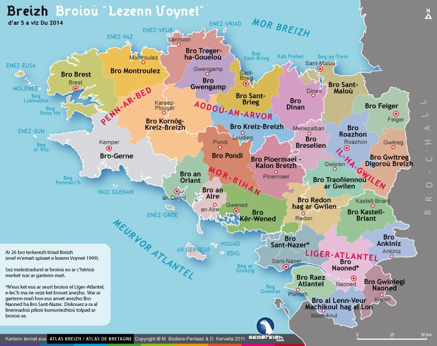 Organisation territoriale Breizh Europa