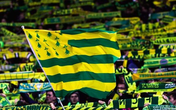 champion's league bretonne Gwen ha du aux couleurs du FC Nantes Breizh Europa