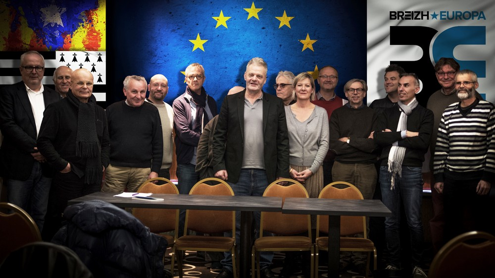 Franck Darcel élu Président de Breizh Europa
